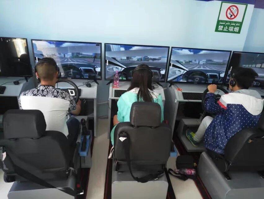 模拟学车训练馆投资小,收益大